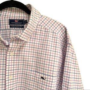 Vineyard Vines Tucker Slim Fit Button Down: XL